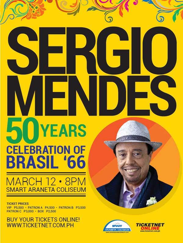 Sergio Mendes Live in Manila 2016