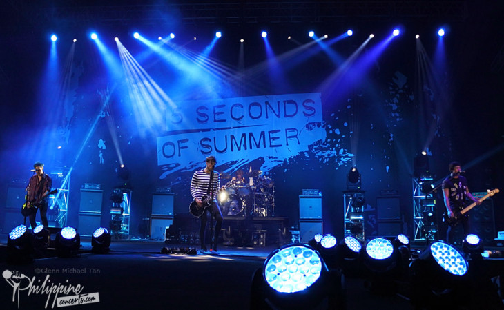 5 Seconds of Summer Live in Manila Photo Gallery