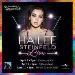 Hailee Steinfeld Live in Manila