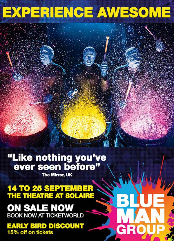 Blue Man Group Live in Manila 2016