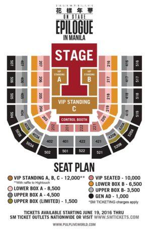 bts-in-manila-seat-plan-ticket-prices