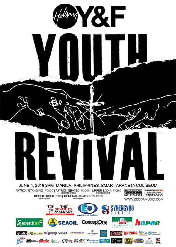 Hillsong Youth & Free Live in Manila – Youth Revival