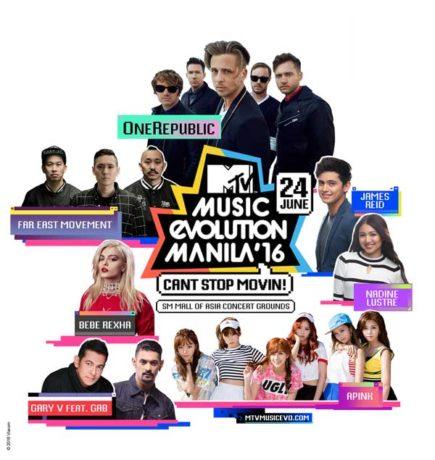 MTV Music Evolution Manila 2016