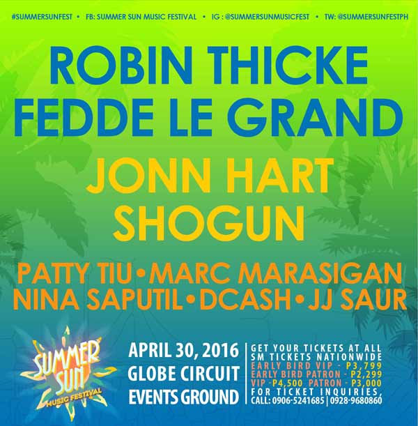 Summer Sun Music Festival 2016