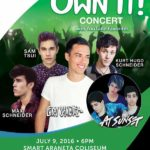Leroy Sanchez, Max Shneider, Sam Tsui, Kurt Hugo Schneider and At Sunset Live in Manila