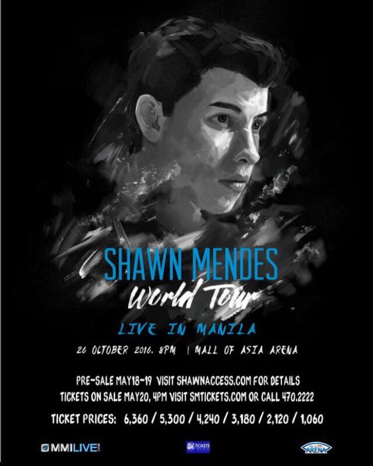 Shawn Mendes Live in Manila