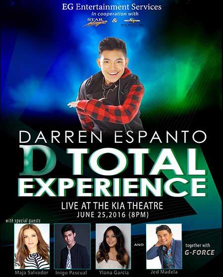 D Total Experience – Darren Espanto Live at Kia Theatre