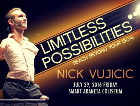 Nick Vujicic Live in Manila 2016