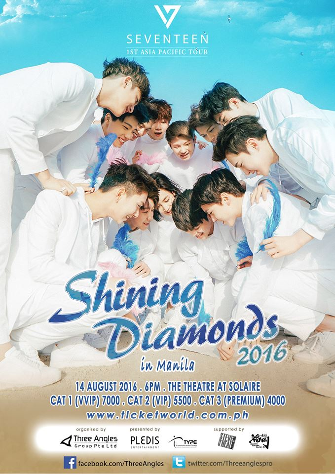 Seventeen Shining Diamonds Live in Manila 2016