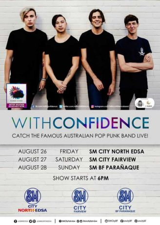 With Confidence Live in Manila 2016