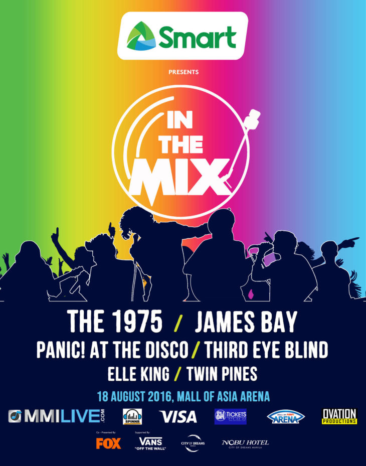 Six International Acts at In The Mix Music Festival