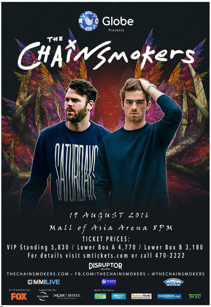 7 Things You Did Not Know About The Chainsmokers