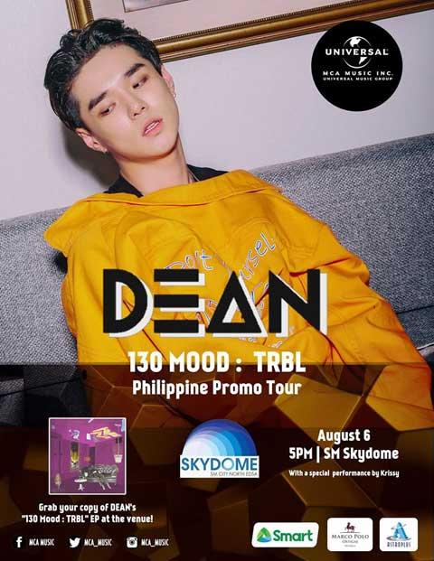 DEAN Philippine Promo Tour