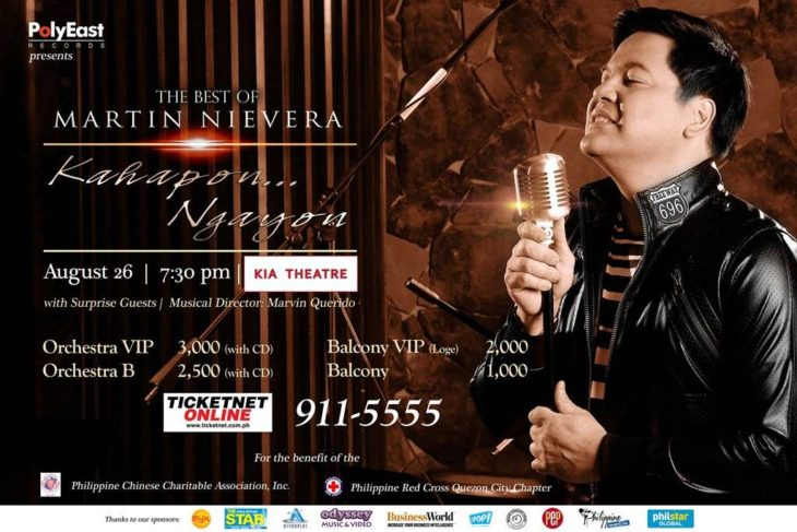Martin Nievera Launches New Album With A Concert At The Kia Theatre