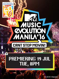 MTV Music Evolution Show Times