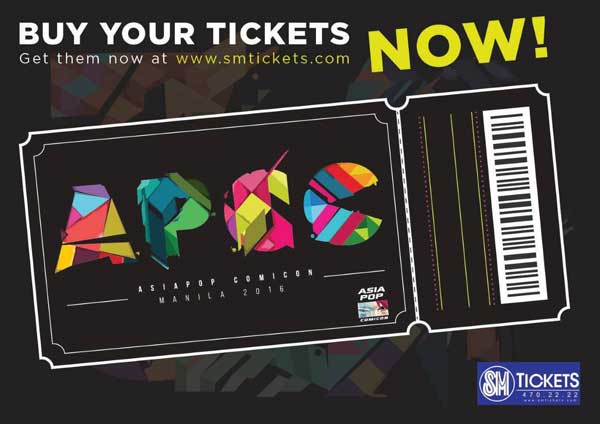 Win AsiaPop Comicon Manila 2016 Tickets