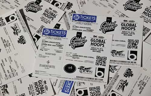 Win Tickets to Watch Global Hoops 2016