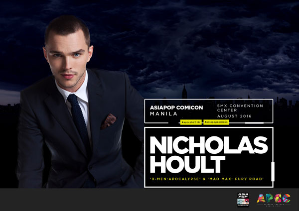 Hollywood Actor Nicholas Hoult, aka X-Men's Beast, Headlines AsiaPOP Comicon Manila 2016