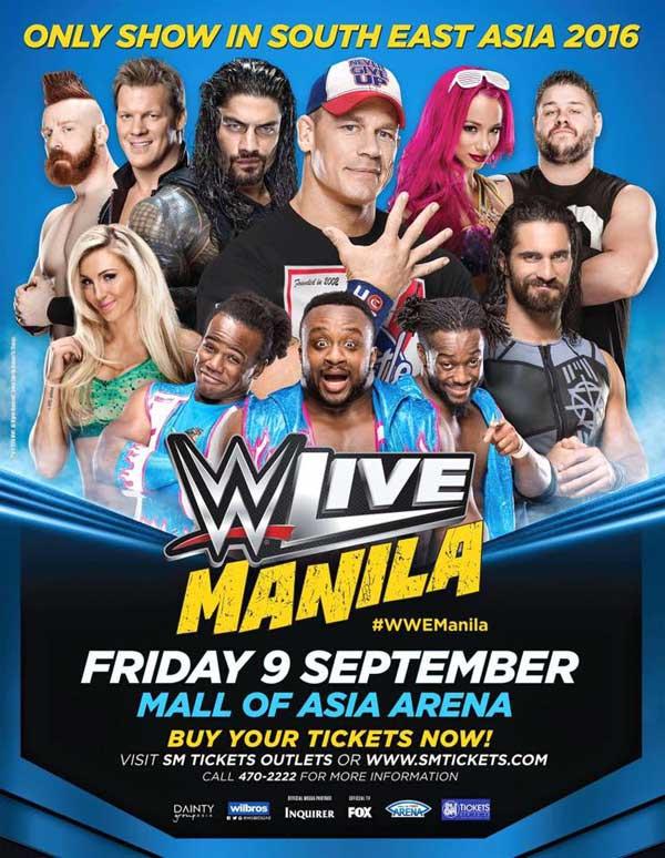 WWE Live Manila 2016