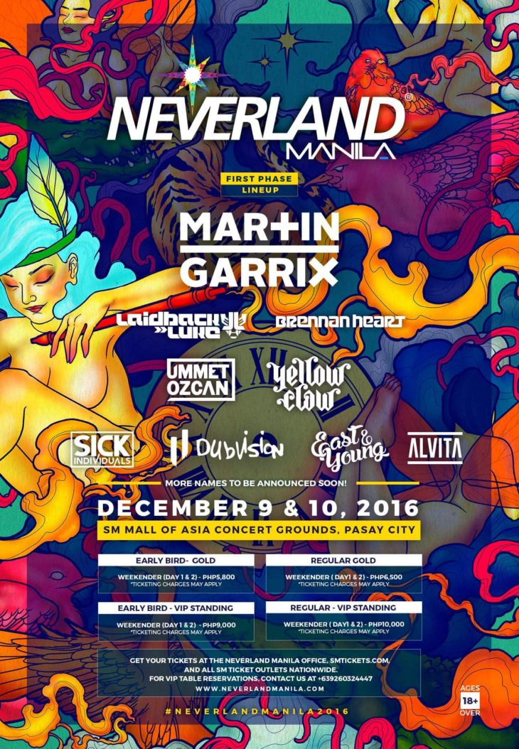 Martin Garrix to headline Neverland Manila 2016