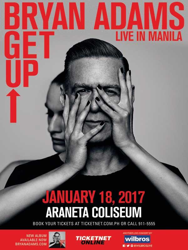 Bryan Adams Live in Manila 2017