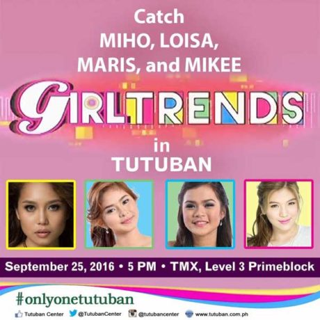 GirlTrends Live in Tutuban