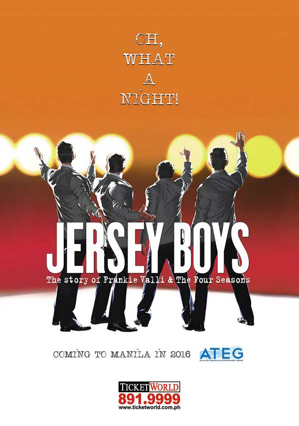 Jersey Boys Musical at Meralco Theatre