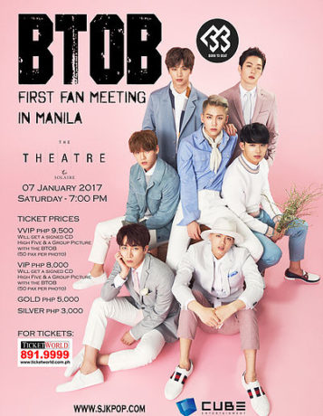 BTOB First Fan Meeting in Manila 2017