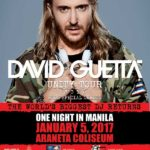 Unity Tour: David Guetta Live in Manila 2017