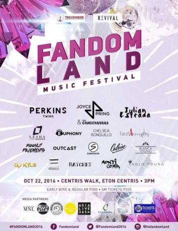 Fandomland Music Festival
