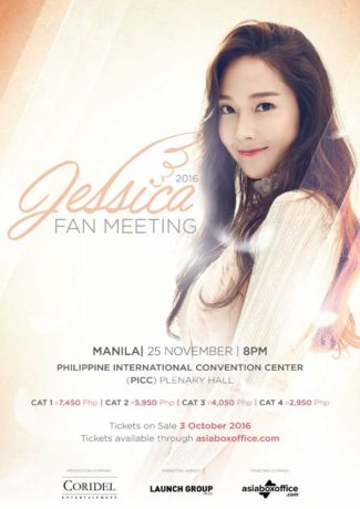 Jessica Jung First Solo Fan Meeting in Manila