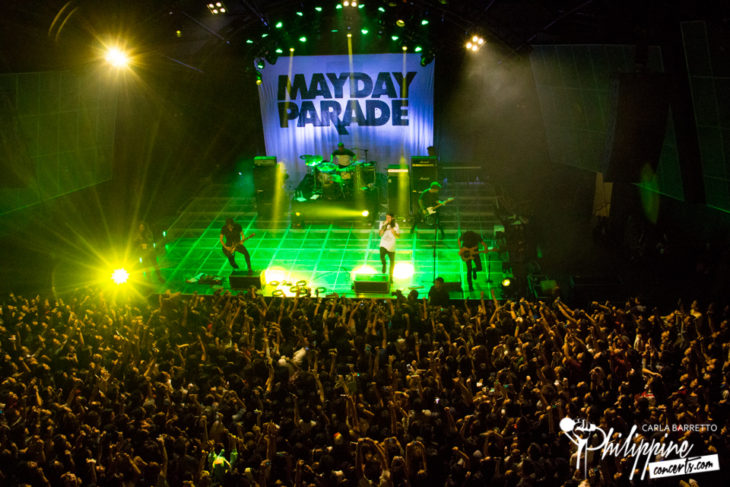 Mayday Parade's Fifth Concert in Manila