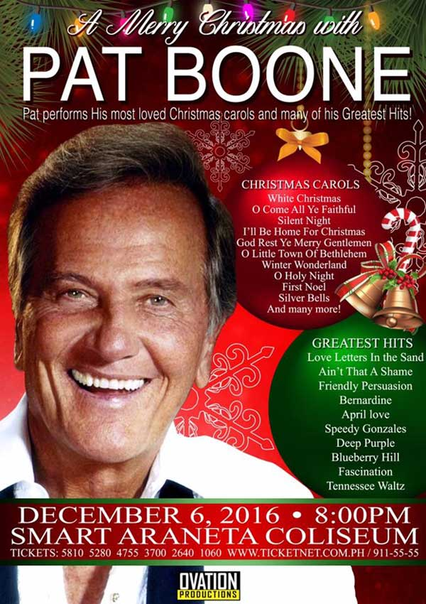 A Merry Christmas with Pat Boone