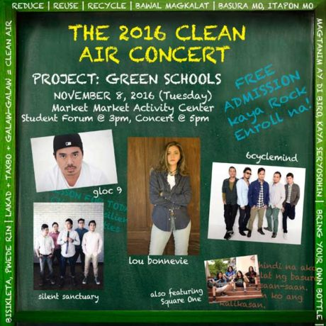 The 2016 Clean Air Concert