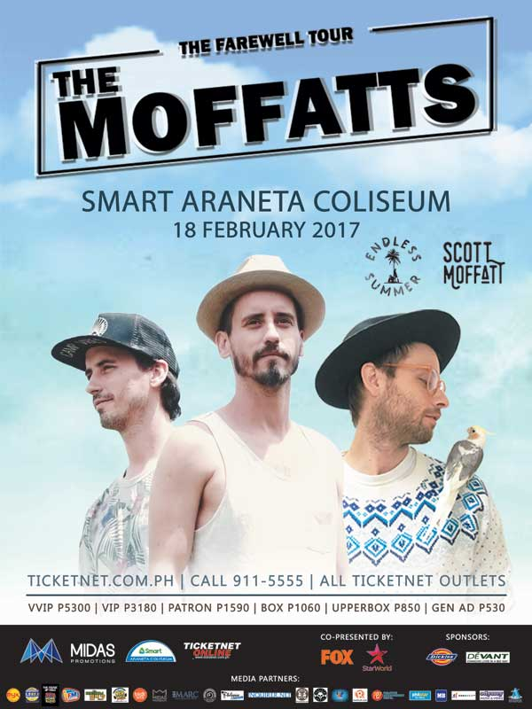 The Moffatts The Farewell Tour Live in Manila