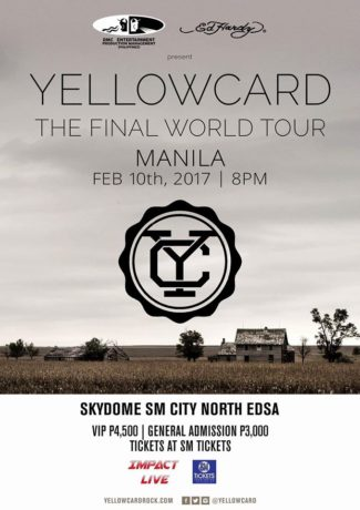 Yellow Card Live in Manila 2017