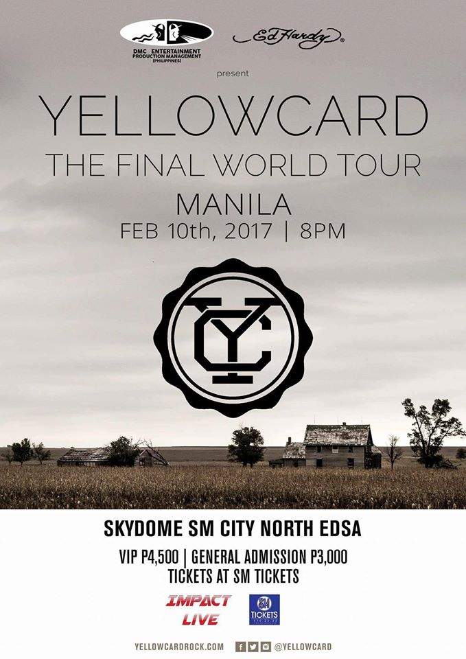 The Final World Tour: Yellowcard Live in Manila 2017