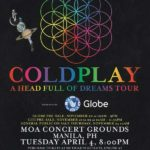 Coldplay Live in Manila 2017