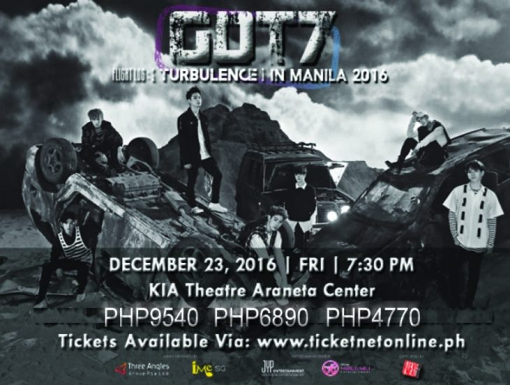 GOT7 Philippine Tour 2016