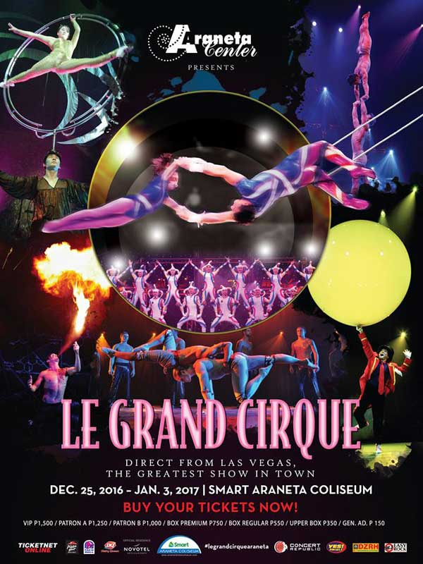Le Grand Cirque at the Big Dome
