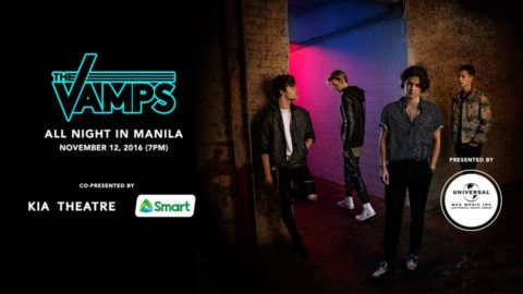 The Vamps Live in Manila on November 12, 2016
