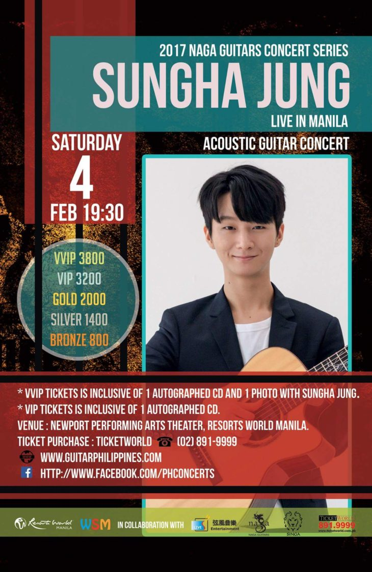 Sungha Jung live in Manila 2017