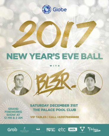 The Palace Pool Club New Year's Eve Ball