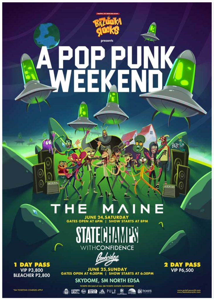 Bazooka Rocks with The Maine, State Champs, With Confidence and Cambridge