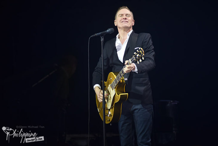 Bryan Adams Gives Manila A Night to Remember