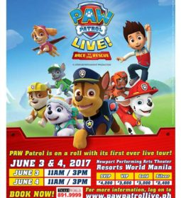 Paw Patrol Race To The Rescue Tour January