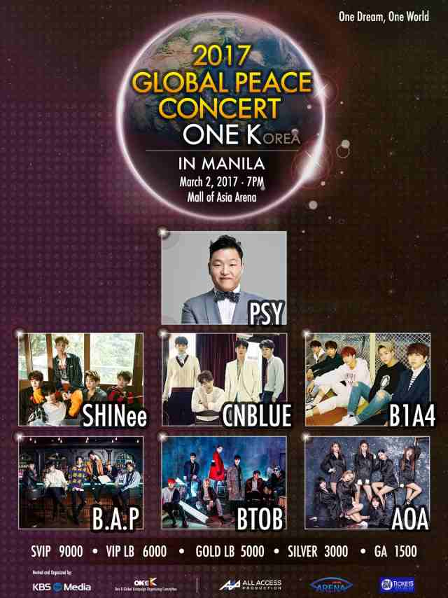 2017 Global Peace Concert One K in Manila