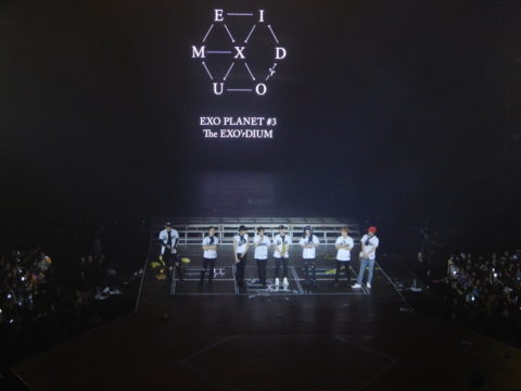 EXO Shakes Up The Big Dome