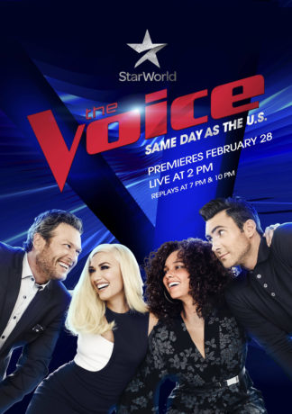 The Voice Exclusively Returns to Star World