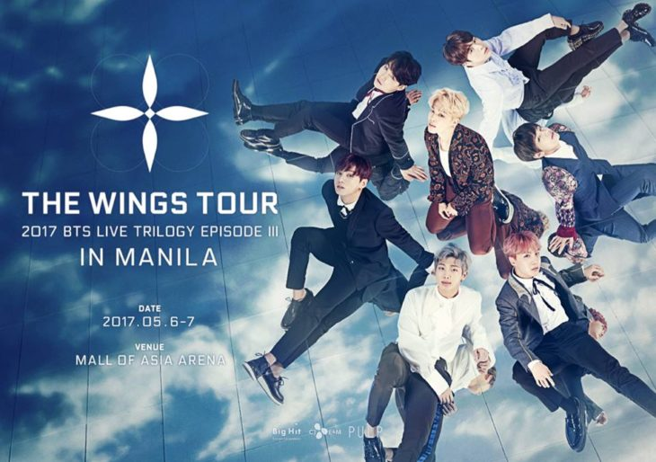 The Wings Tour: BTS Live Trilogy Episode III in Manila